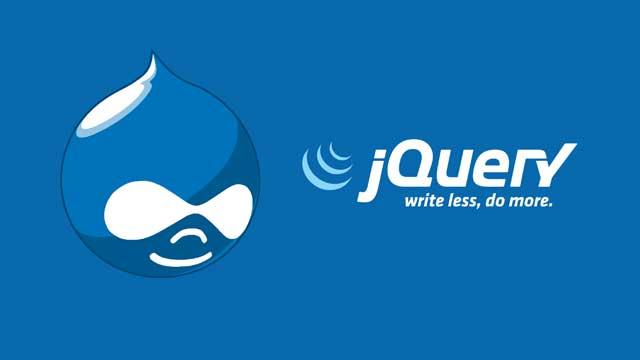 دروپال jquery update